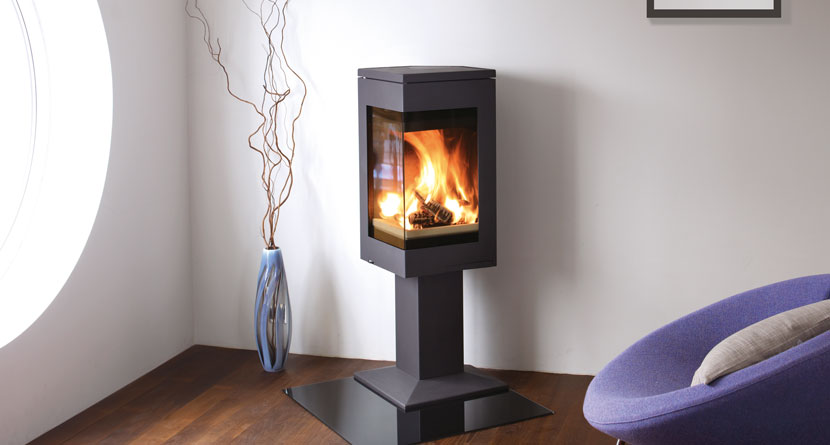 quadro 1 wood burning stoves nordpeis stoves uk. Black Bedroom Furniture Sets. Home Design Ideas