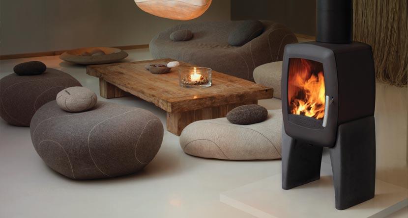 Smarty Concrete Wood Burning Stoves Nordpeis Stoves Uk
